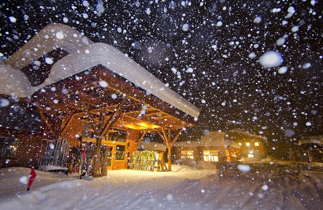 ガリーナロッジ冬