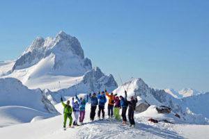 バカブース・スキーヤーたち